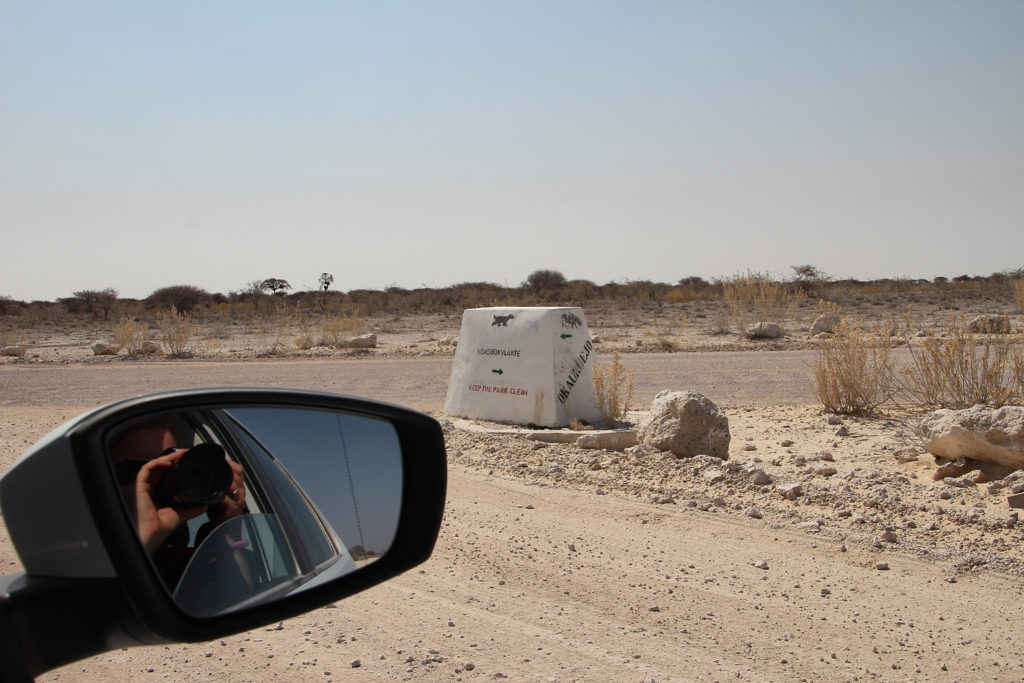 Unterwegs im Etosha Nationalpark Namibia