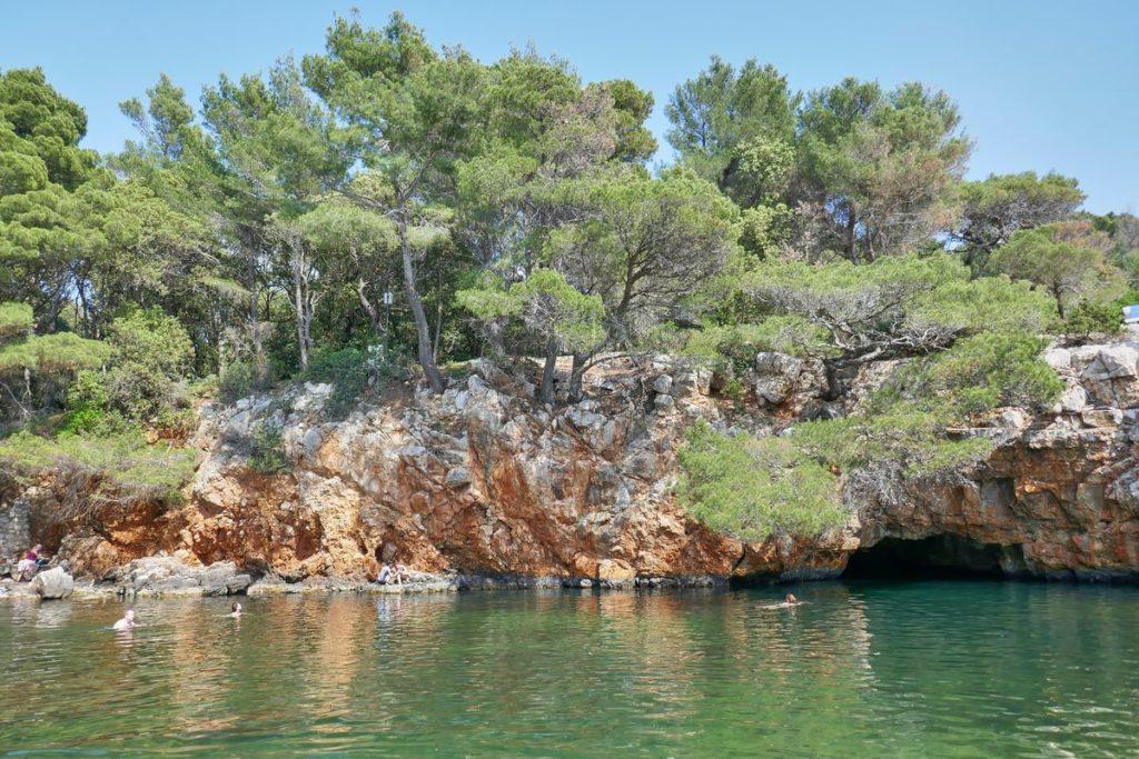 Totes Meer Lokrum Dubrovnik Kroatien
