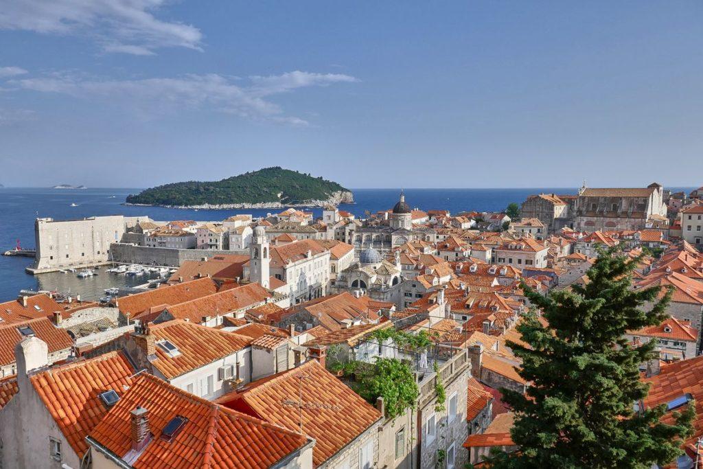 Altstadt Dubrovnik Kroatien Stadtmauer