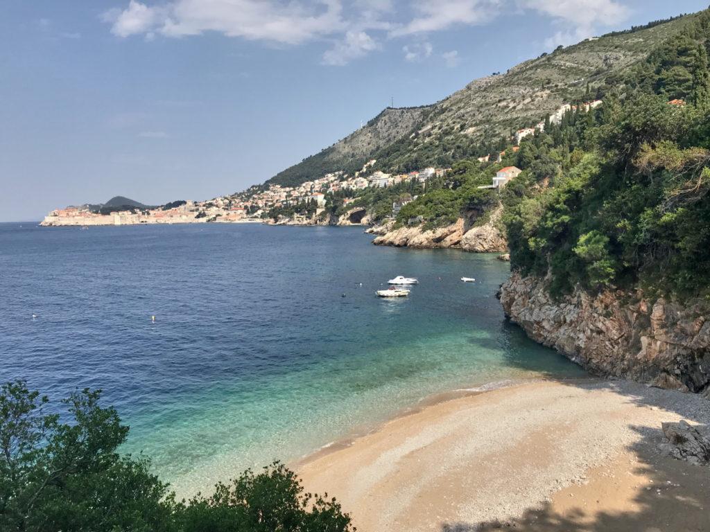 Strand Sveti Jakov Dubrovnik Kroatien