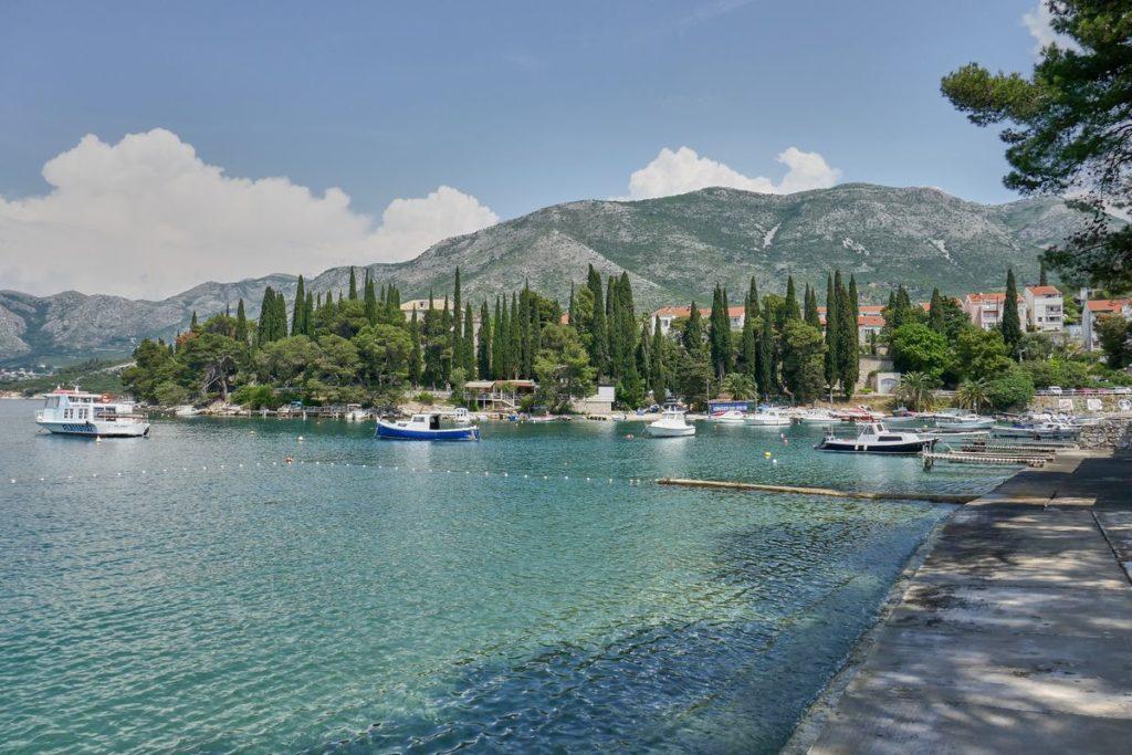 Hafen Cavtat Kroatien