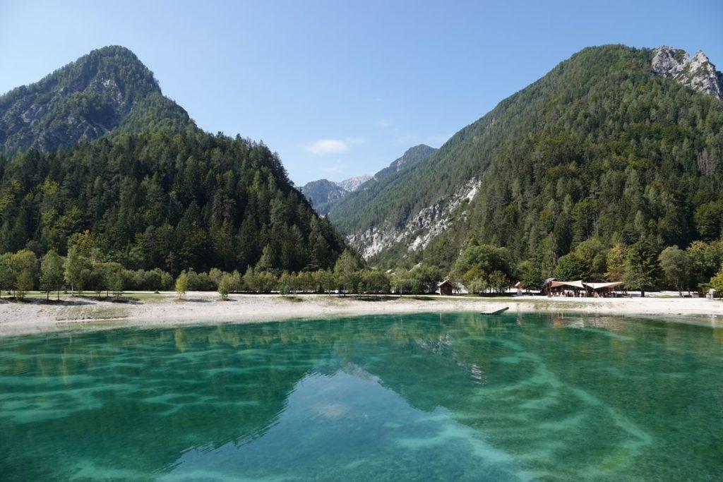 Jasna See Lake Jasna Kranjska Gora Slowenien