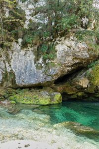 Slap Virje Slowenien Triglav Nationalpark