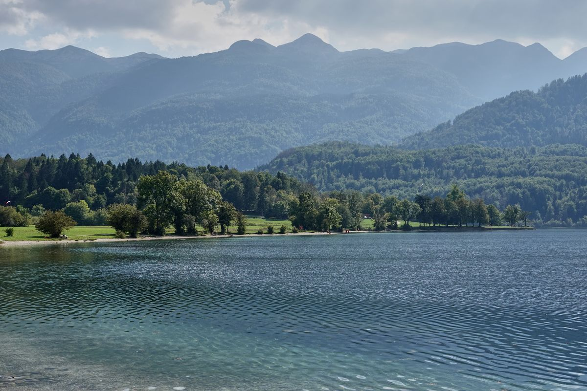 Bohinjsko Jezero Bohinjer See Triglav Nationalpark Slowenien