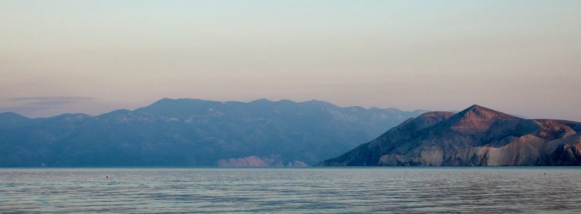 Bucht Baska Krk Kroatien
