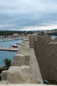 Frankopan Festung Castle Krk Stadt Insel Krk Kroatien Mauer