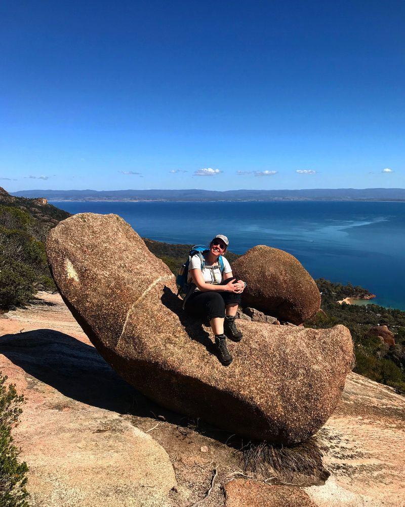 Tasmanien Australien Mount Amos Wineglass Bay