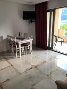Wohnzimmer Castello Apartments Kotor Montenegro
