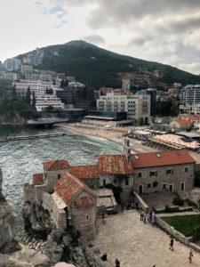 Aussicht Zitadelle Budva Montenegro