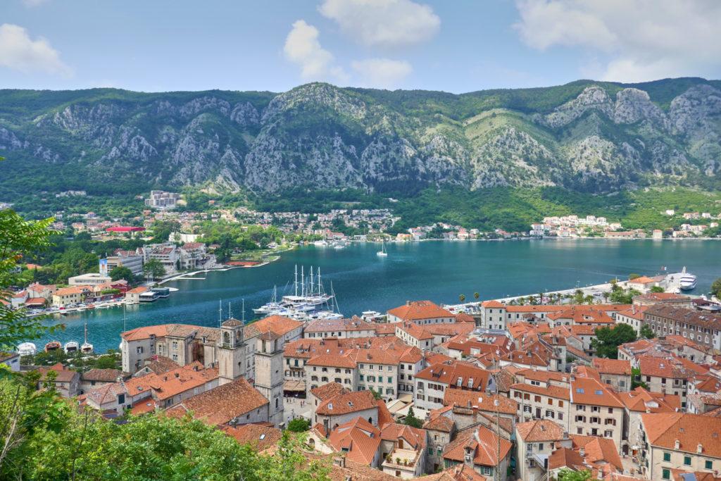 Ausblick Kotor Montenegro