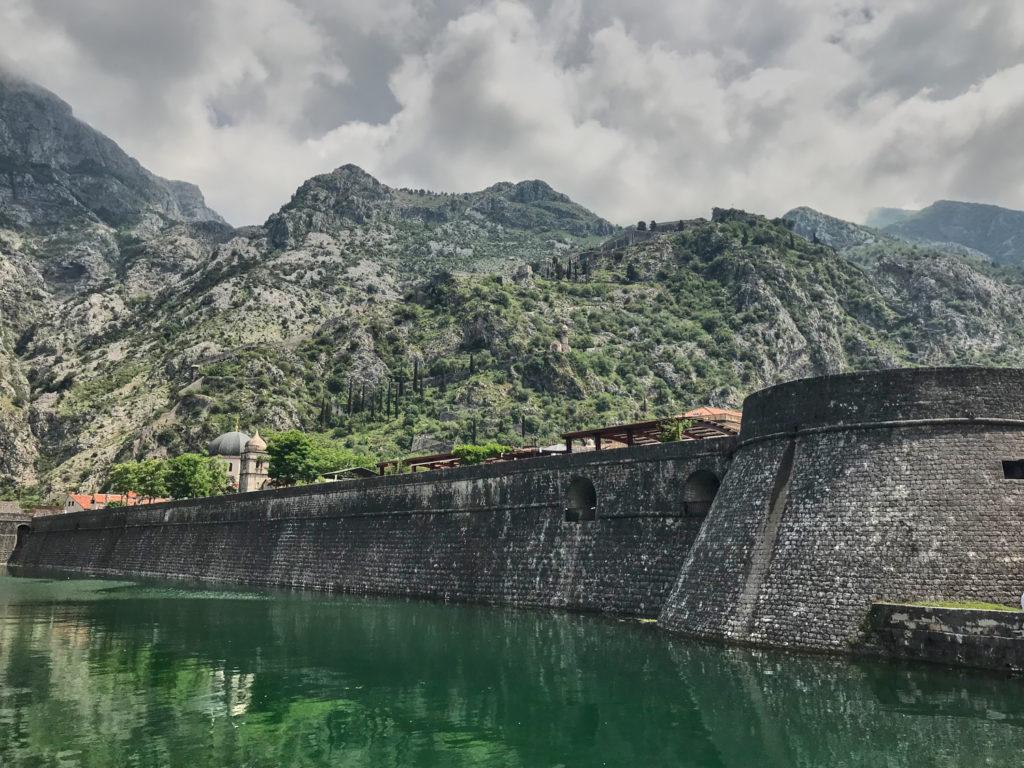 Stadtmauer Kotor Montenegro