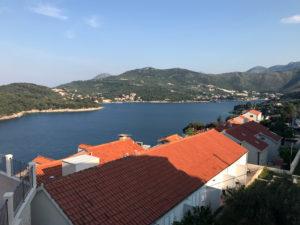 Ausblick von unserem Balkon