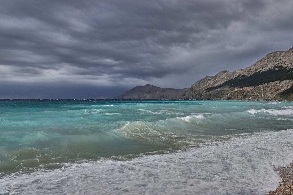 Bucht Baska Krk Kroatien Meer