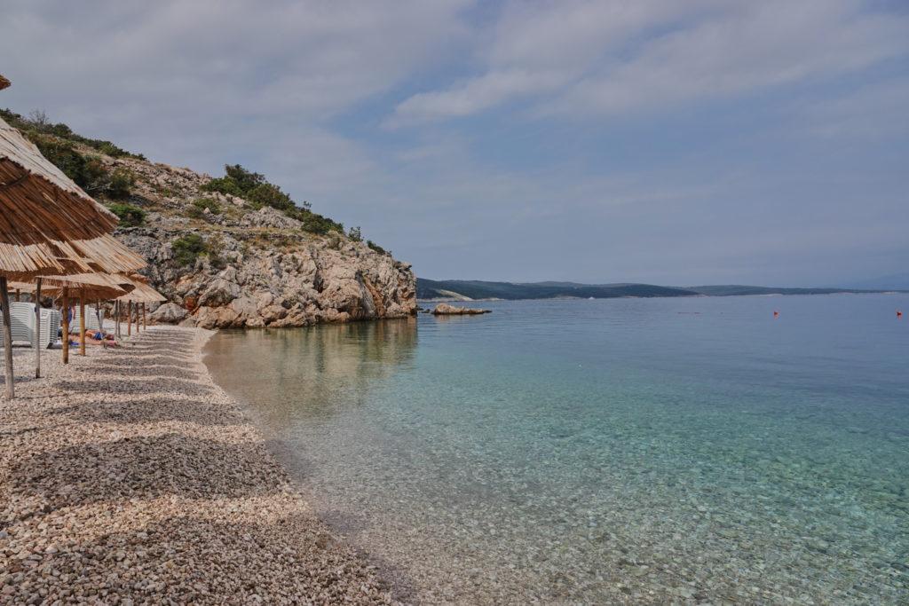 Bucht Vrbnik Krk Kroatien