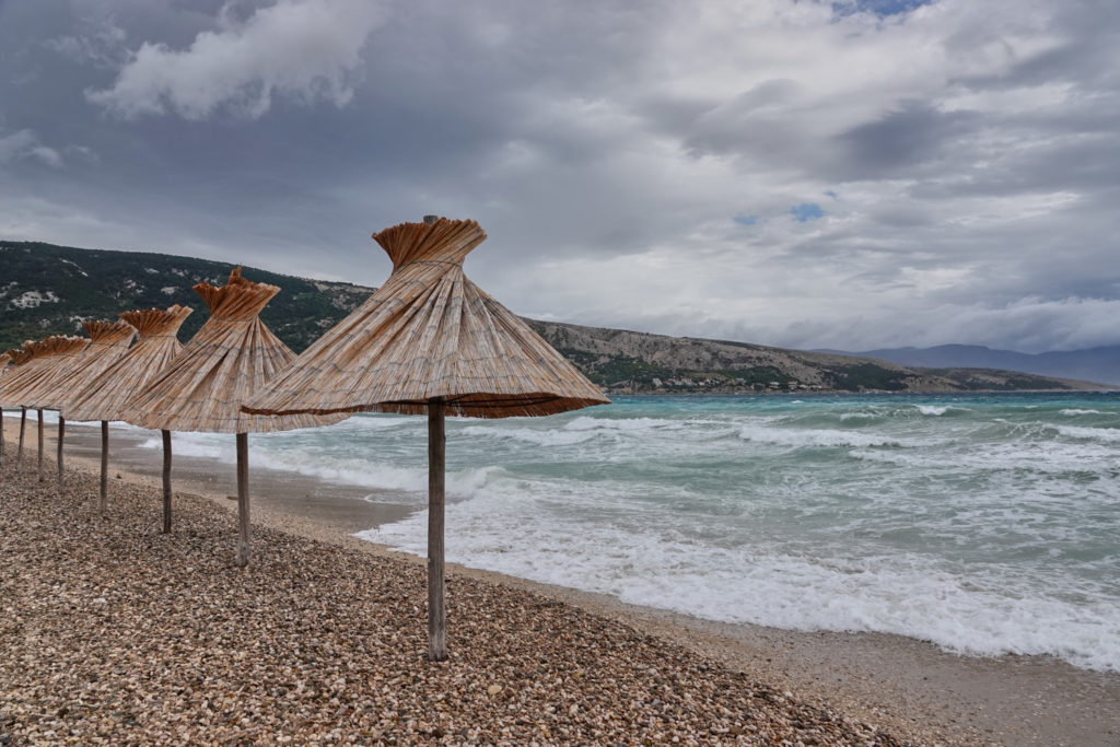 Strand Bucht Baska Krk Kroatien