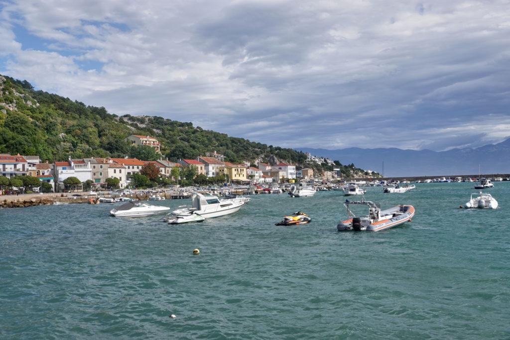 Hafen Boote Baska Krk Kroatien