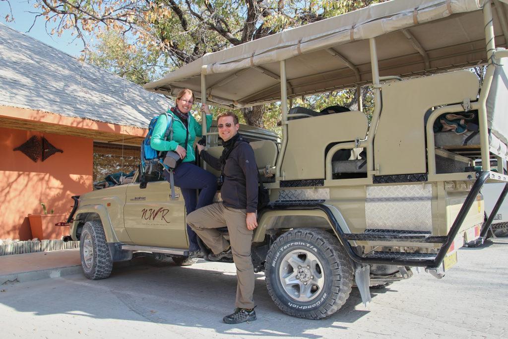 Auf Safari im Etosha Nationalpark
