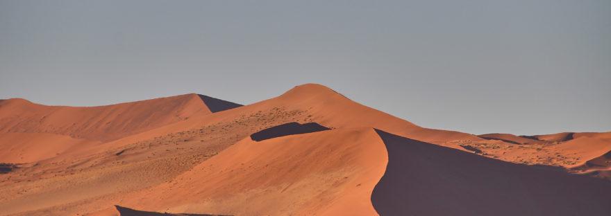 Dünen im Namib-Naukluft-Nationalpark Namibia