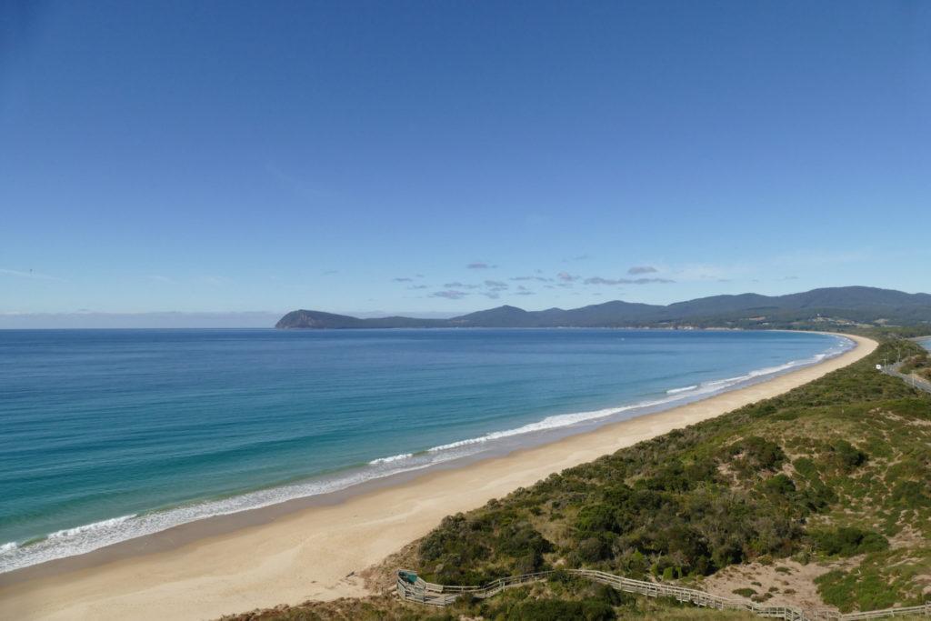 The neck Aussichtspunkt Bruny Island Tasmanien