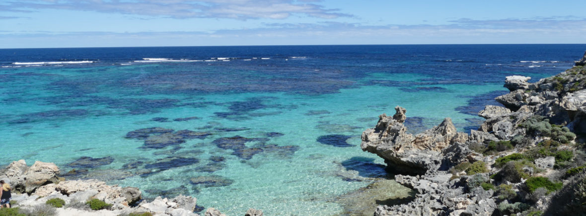 Rottnest Island Strand Meer Westaustralien