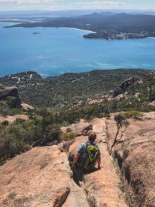 Abstieg Mount Amos