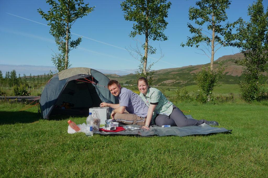 Camping Island Zelt