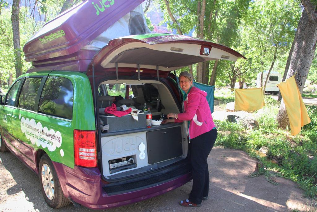 Jucy Rentals Camper USA