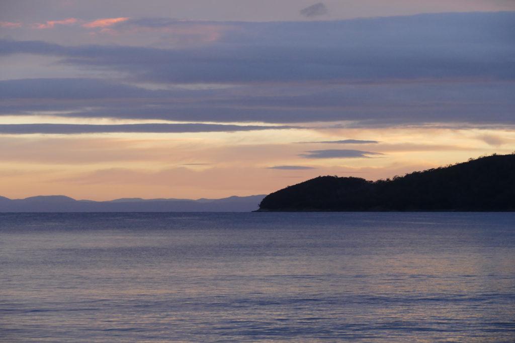 Sonnenaufgang Adventure Bay