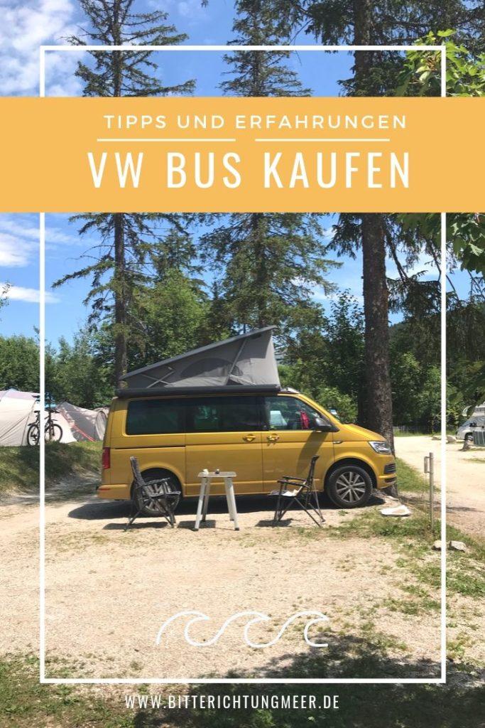 VW Bus kaufen Pinterest