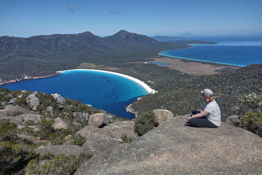 Wineglass Bay Tasmanien Sehenswürdigkeit Nummer eins