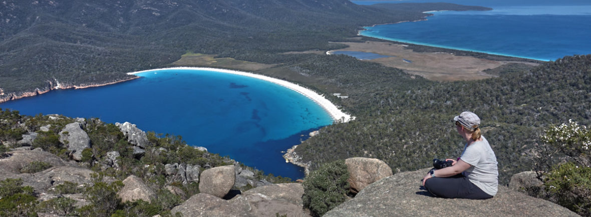 Reise- und Camping-Blog Wineglass Bay Tasmanien