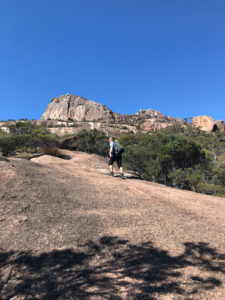 Aufstieg Mount Amos