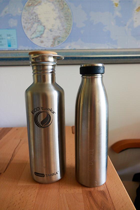 Reise Gadgets Edelstahlflaschen