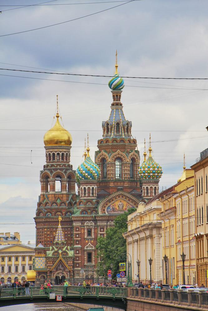 Reiseziele Europa Blutkirche Sankt Petersburg