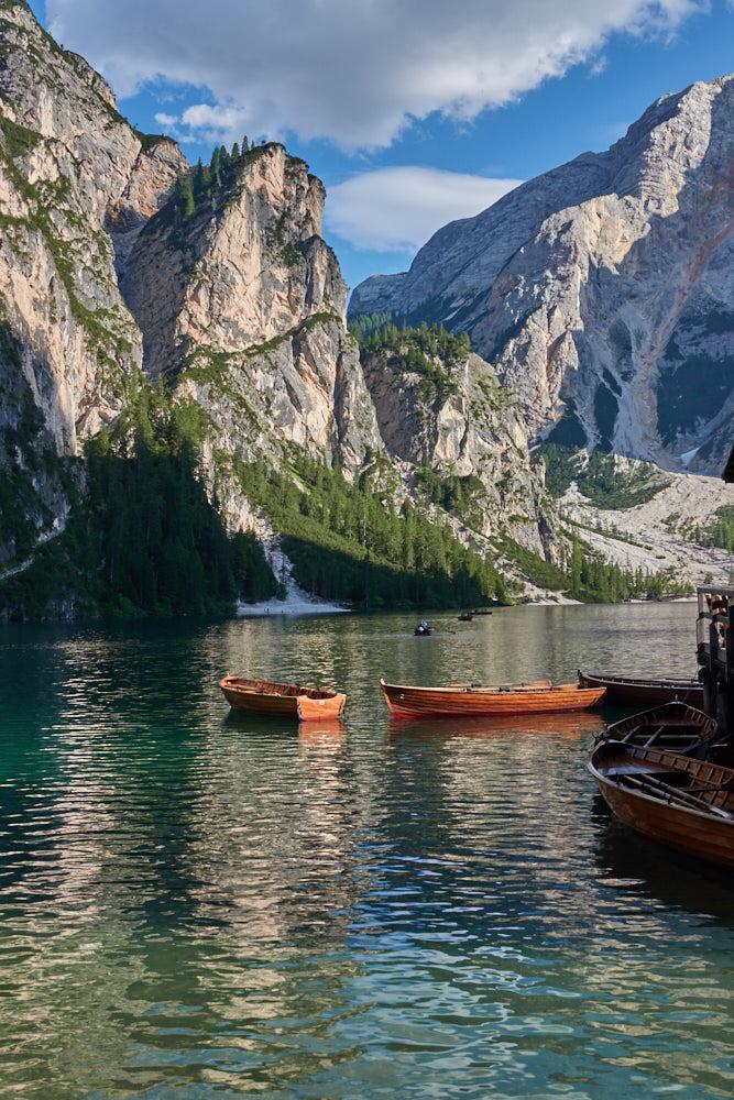 Reiseziele Europa Pragser Wildsee Südtirol