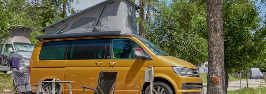 VW California Gasflasche kochen