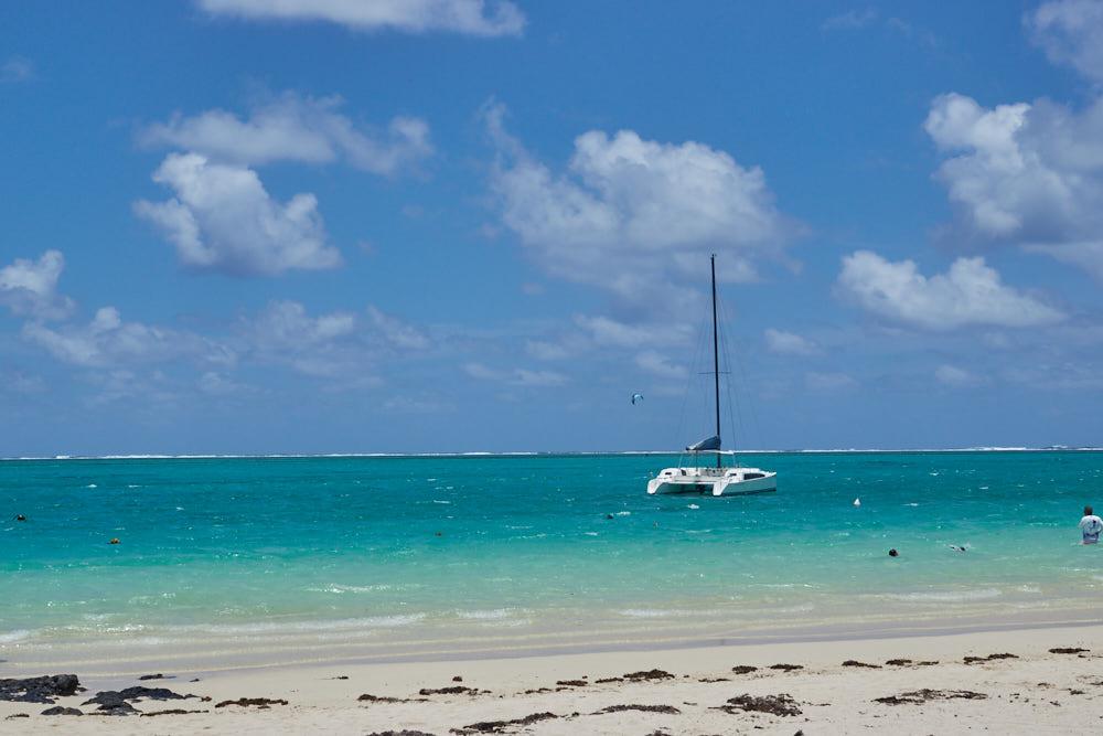 Mauritius Bitte Richtung Meer