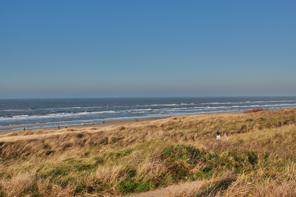 Wintercamping Holland Strand Egmond aan Zee