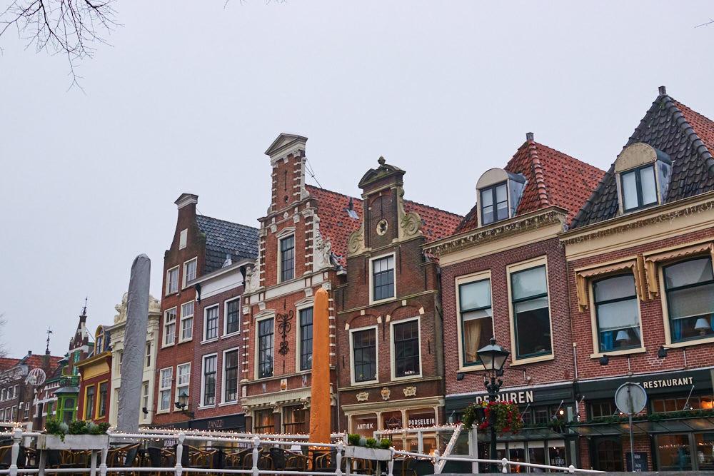 Alkmaar Altstadt Wintercamping Holland