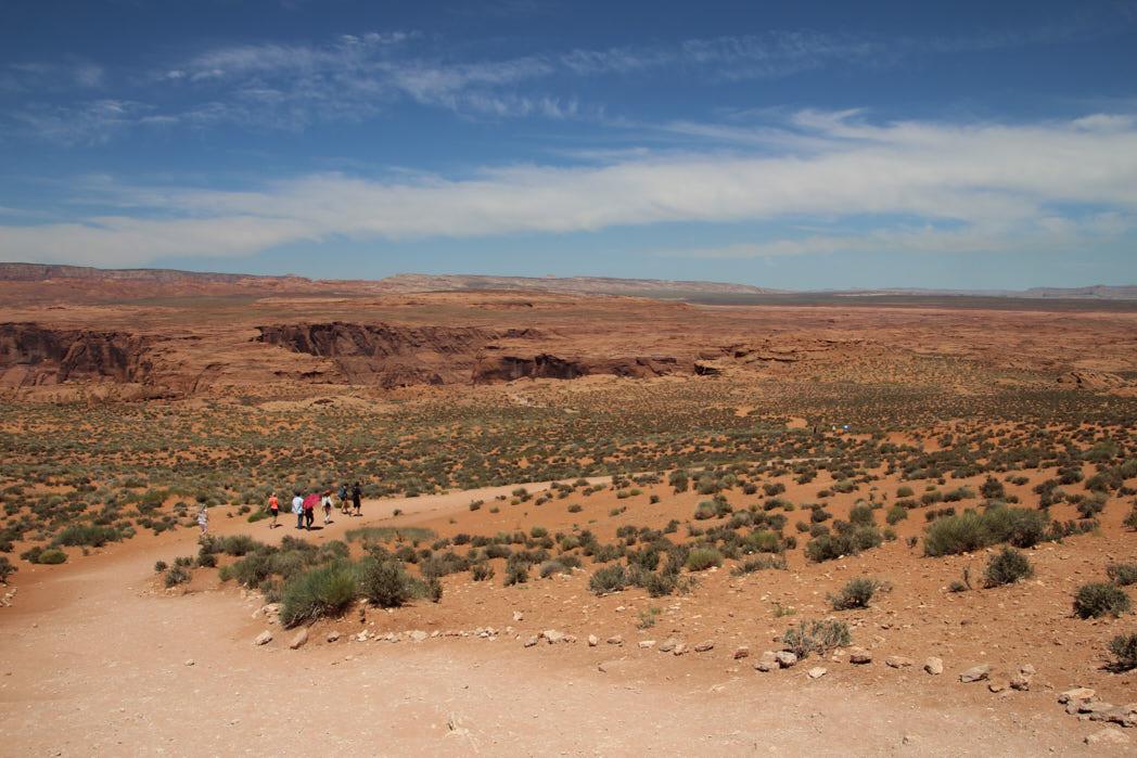 USA Nationalparks Horseshoe Bend