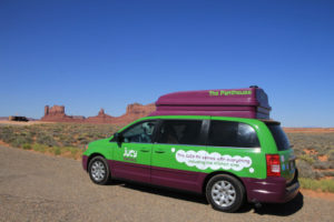Jucy Camper Monument Valley