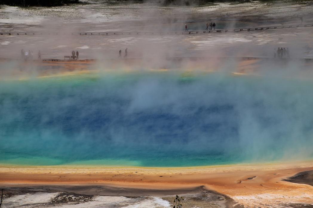 Grand Prismatic Spring Yellowstone Nationalpark