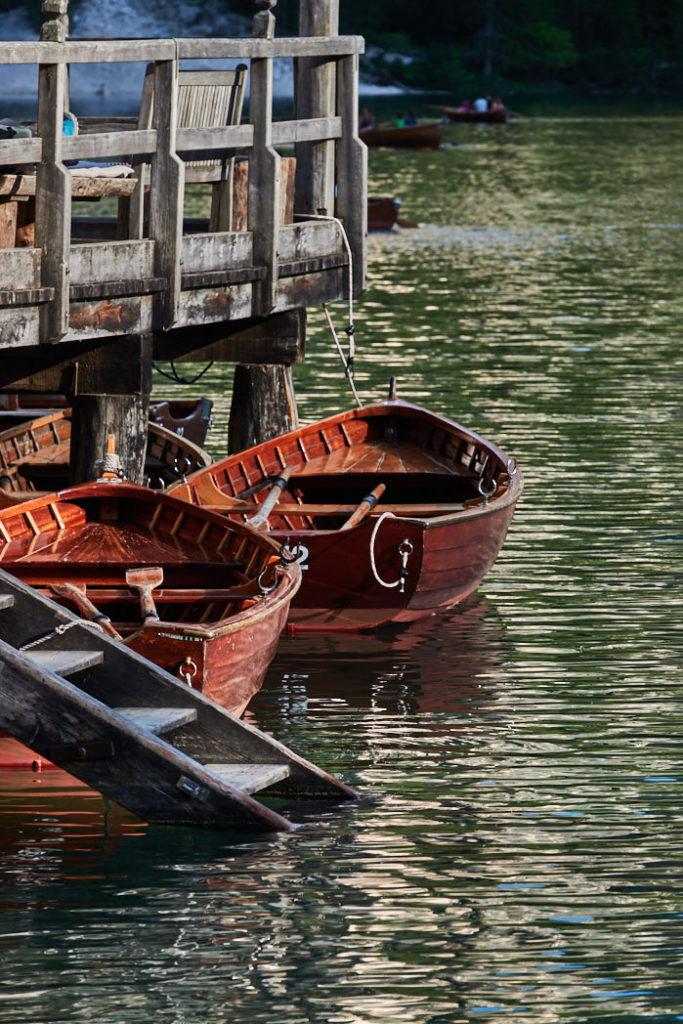 Pragser Wildsee Holzboote