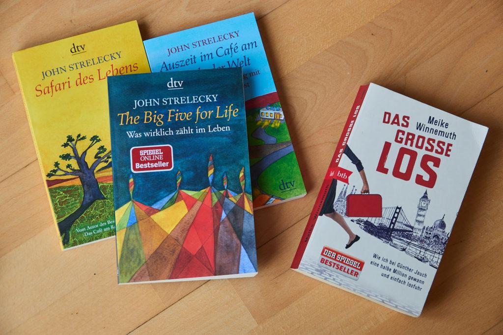 Buchempfehlungen John Strelecky Das Cafe am Rande der Welt