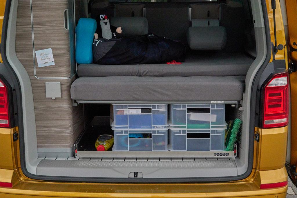 Kofferraum Packliste Camping
