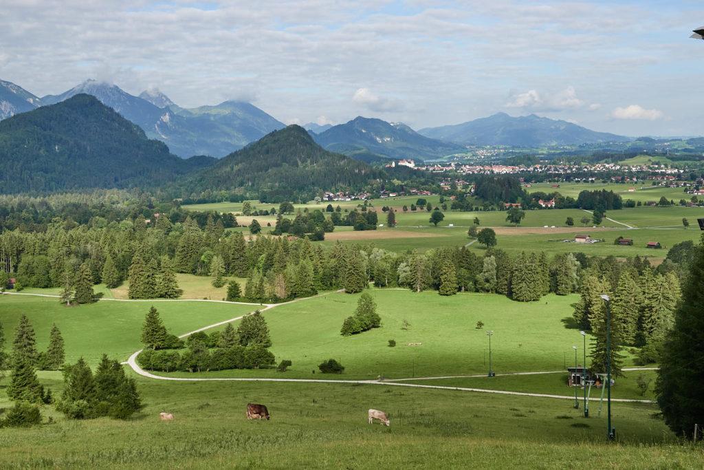 Ausblick Tegelberg Allgäu
