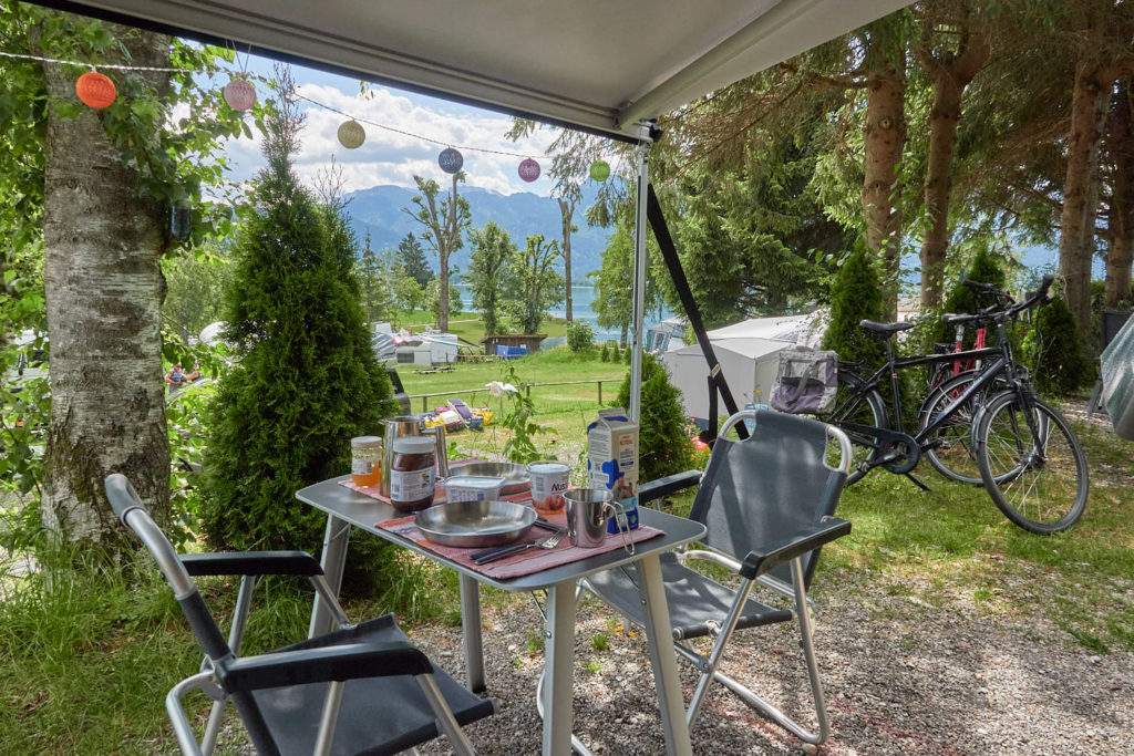 Campingplatz Magdalena Rieden am Forggensee im Allgäu