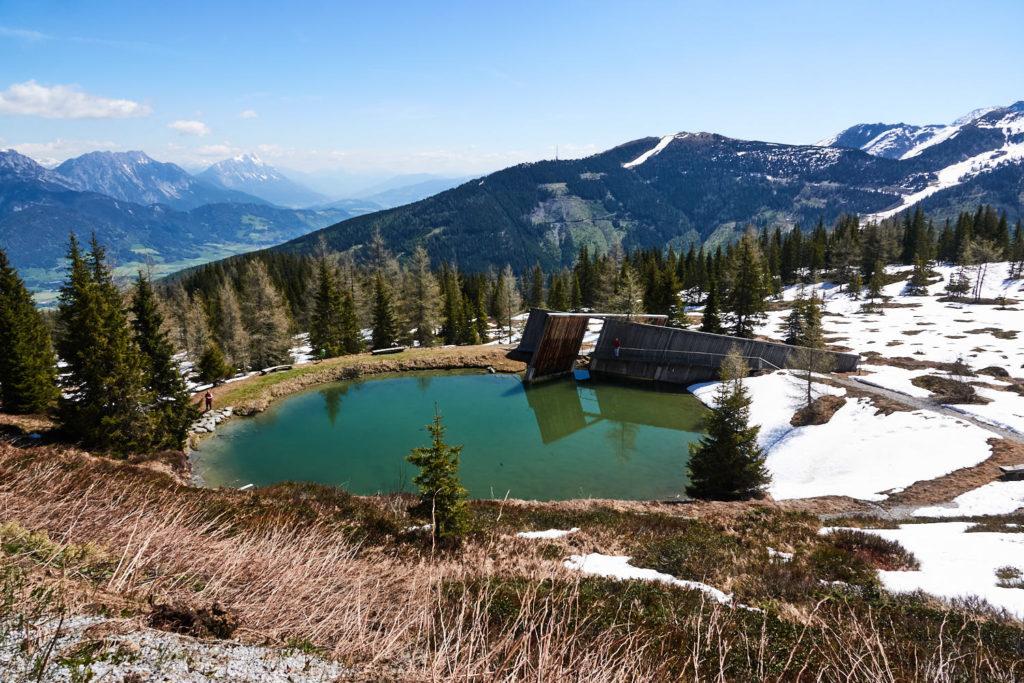 Planai Seelein und Ort der Besinnung in der Schladming-Dachstein Region