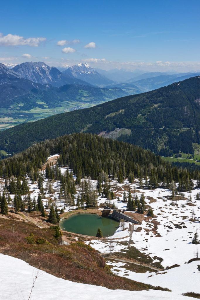 Ausblicke vom Planai Gipfel