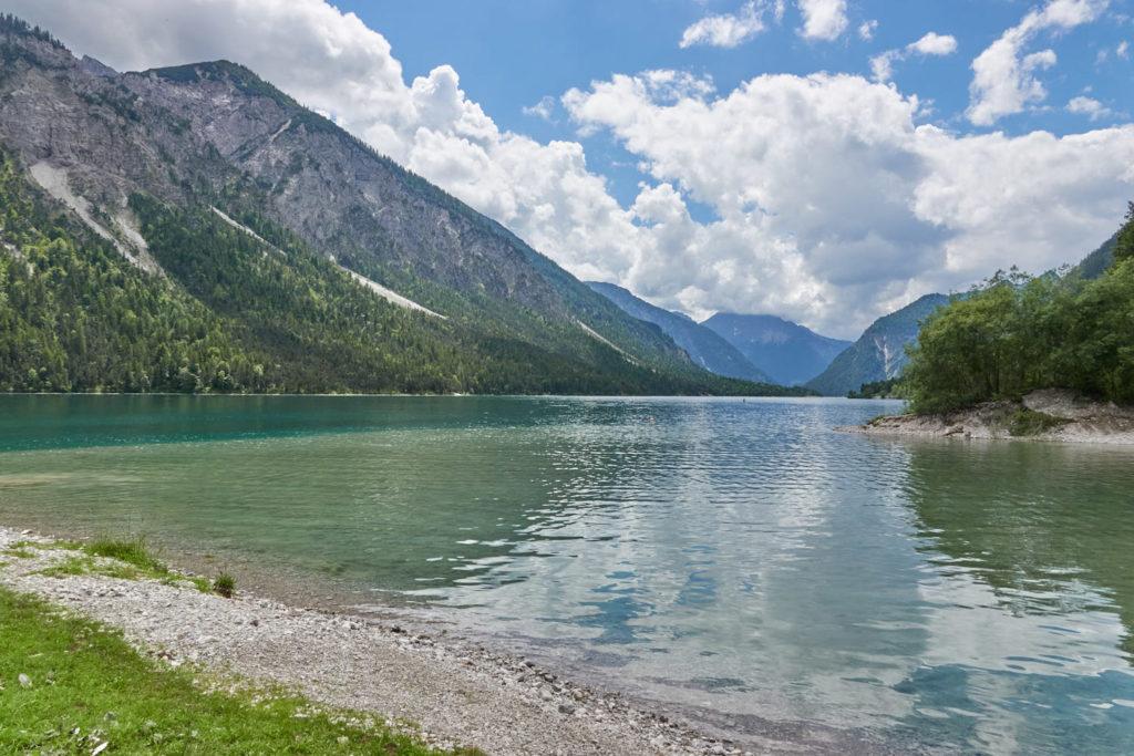 Plansee Ausflug vom Forggensee im Allgäu nach Tirol